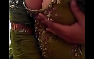 Sexy Desi Indian Babe stripped herself, shaking will not hear of nude Boobs be worthwhile for lover on Webcam