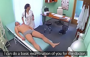 Tasteless doctor cant get enough of sex