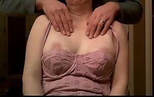 milf breast groped at near massage