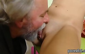 Ideal schoolgirl gets seduced increased by pounded by her older schoolteacher