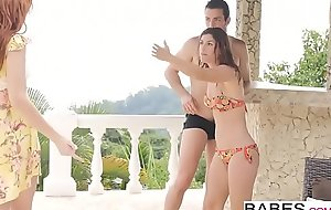 Babes - Step Mom Briefing - Its Okay Were On Vacation starring Joel and Julia Roca and Bianca Resa cl