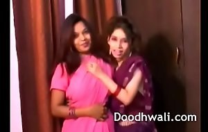 Indian Order of the day Girls In Sari Lesbian Mind Blowing XXX Porn
