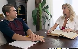 Brazzers - Mammas in control - Homeschool Coition Ed scene starring Kimmy Granger Synthia Fixx and Xander
