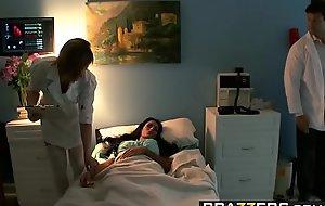 Brazzers - Doctor Adventures - The Bone Identity scene starring Angelina Valentine coupled with Ramon