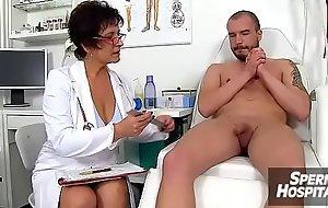 Mom boy medical porn scene feat. Czech MILF taint Gabina