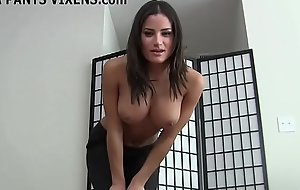 I know you love it when I jerk you off in my yoga pants JOI