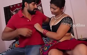 desimasala.co - Sashi aunty boob make away increased by interesting romance with neighbor