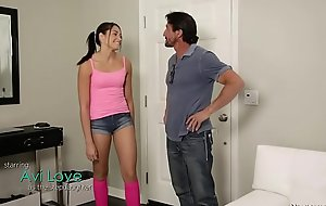 Approve on Dad, we don'_t shot to be completely naked! - Avi Adore coupled with Tommy Gunn