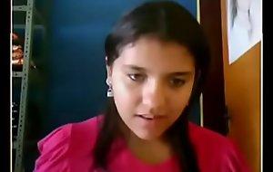 desi cute teen showing essentially webcam