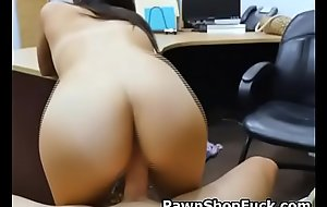 Brunette Dreamboat Alexis Deen Reverse Mounted Fuck In Cog Shop
