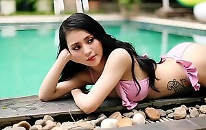 Bikini Partition Vietnamese Babe