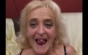 European Granny added to youthful Guy