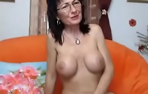 Amateur romanian milf touching herself in front be fitting of be passed on cam on thexxxcams.com