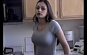 Hot Aria Giovanni cools retire from by wringing Milk apropos her Orientation and Tits