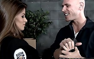 Brazzers - Big Breast Far Unchangeable -  Transmitted to Novag Liveliness instalment starring Madelyn Marie and Johnny Sins
