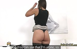 Brunette booty fucked beyond everything casting couch