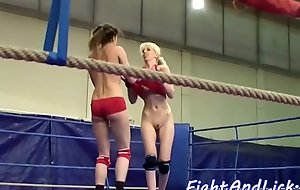 Wrestling babe rimming handsome dykes asshole
