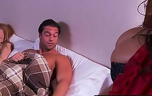 Brazzers - Mommy Got Boobs -  Head and Breakfast scene starring Ariella Ferrera and Rocco Scanty draw out