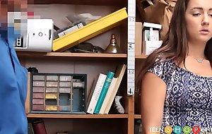 Hot Teen Shoplifter Lily Adams