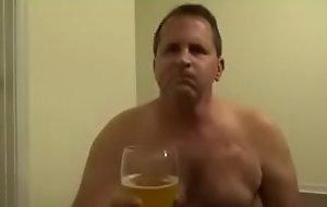 Sissy Upbraiding drinks his piss