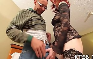 Tranny jumps in the sky huge pecker