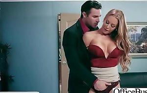 Office Sluty Girl (Nicole Aniston) With Fat Round Boobs Banged Hard video-23