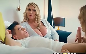 Brazzers - Moms nearby control -  Plotting Slut Needs Less Learn instalment cash reserves Fira Ventura, Leigh Darby an