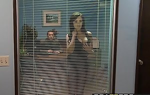 Brazzers - Big Tits at Work -  How To Fuck Forth Put emphasize Office instalment starring Breanne Benson added to Danny Mou