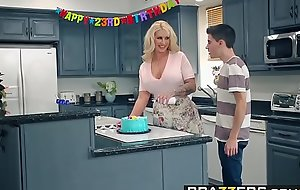 Brazzers - Mommy Got Breast -  My Friends Screwed My Mom scene starring Ryan Conner, Jordi El Ni&_ntild