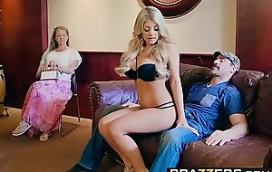 Brazzers - Brazzers Exxtra -  Dont Attack Say no to 3 scene starring Kayla Kayden and Charles Dera
