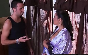 Brazzers - Milfs Like it Big -  Hot Milf Fucks Juvenile Mendicant in the Shower chapter starring Francesca Le a
