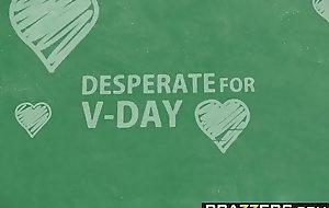 Brazzers - Big Tits at School -  Desperate For V-Day Detect scene vice-chancellor Brandi Love and Lucas Frost