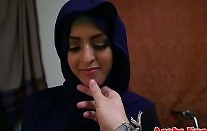 Arabic hijab amateur doggystyled inspection bj