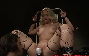 Domineer sub pussytoyed and jizzed in mouth