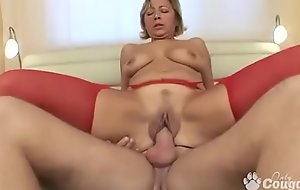 Granny Fucks In Gstring and Stockings