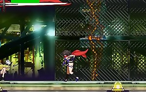 Scrider Asuka - anime action game stage 5