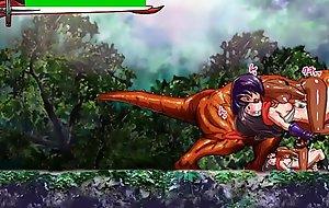 Scrider Asuka - hentai action game stage 4