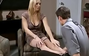 Hot blonde MILF fucked and jizzed exposed to strapon - milfgasm xnxx fuck video