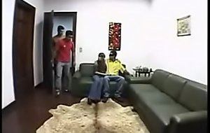 Husbands watch their brazilian wifes fuck 1