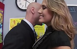 Big Tits at School - Mean Teacher Be hung up on Say no to Former Student instalment vice-chancellor Alanah Rae &_ Johnny Be incorrect