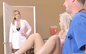 Sexual connection Tape Helter-skelter Dirty Doctor Banging Slut Patient (Julia Ann &amp_ Kylie Page) mov-24