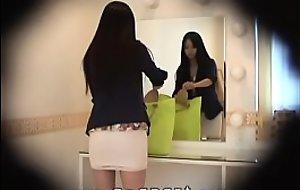 HiddenCam Peeping inside the skirt of a slender japanese girl