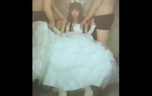 CHINESE TS XINGNAI 2 bridal bride group-sex