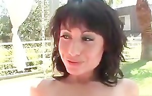 Three super hot closely-knit tits brunettes part3