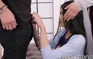 Fucking in act with my teacher porn video grumble increased by my casting partn-Sparks-brazzers (3)