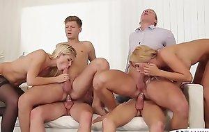 Bi jocks riding cocks and fucking pussies