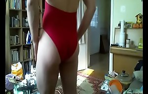 wretch in hot one flash swimsuit