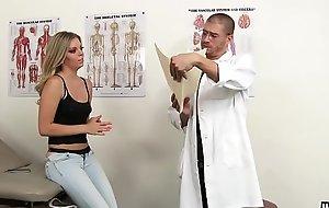 WANKZ- Erotic Academy Blonde Trisha Exploited at Doctors