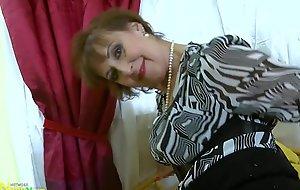 OldNannY Hot Sex-crazed Grandma Seductive Striptease