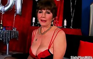 Sexy lingerie on granny porn video overindulge